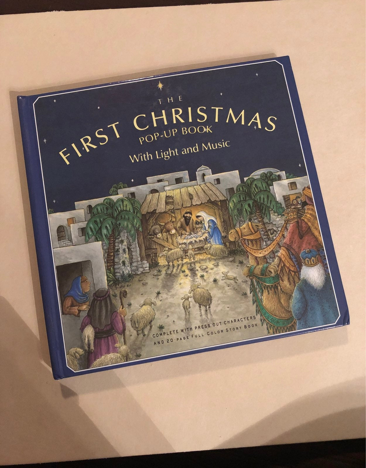 The First Christmass Pop up Book