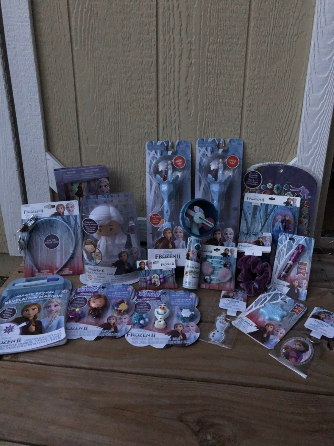 Reserved Large set of frozen crafts/toys