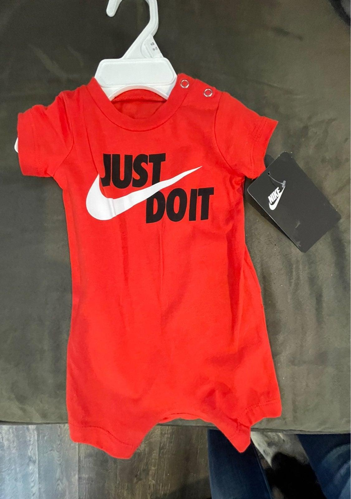 Nike boys romper