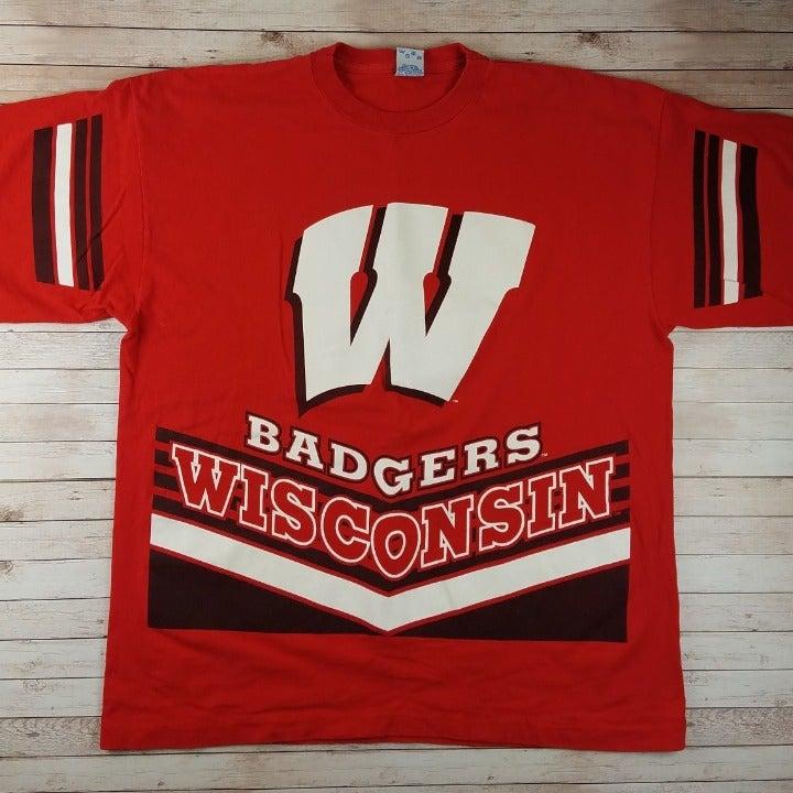 VTG 90s Wisconsin Badgers Salem T-Shirt