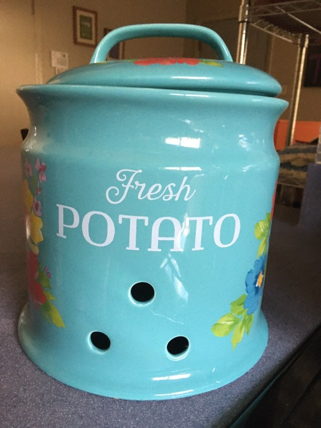 New Pioneer Woman Potato Keeper