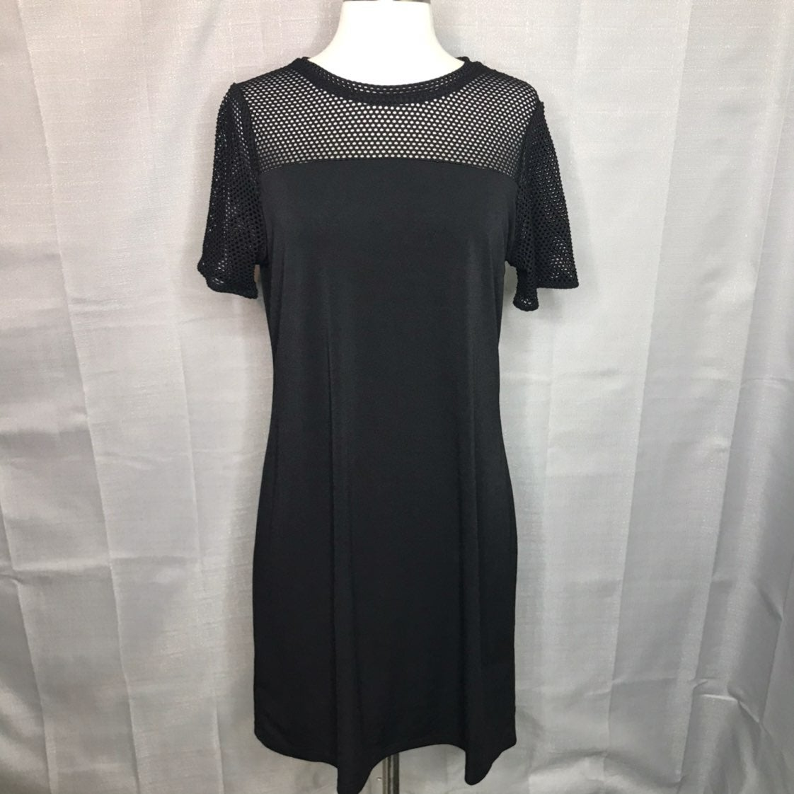 MICHAEL Michael Kors Black Tee Dress Med