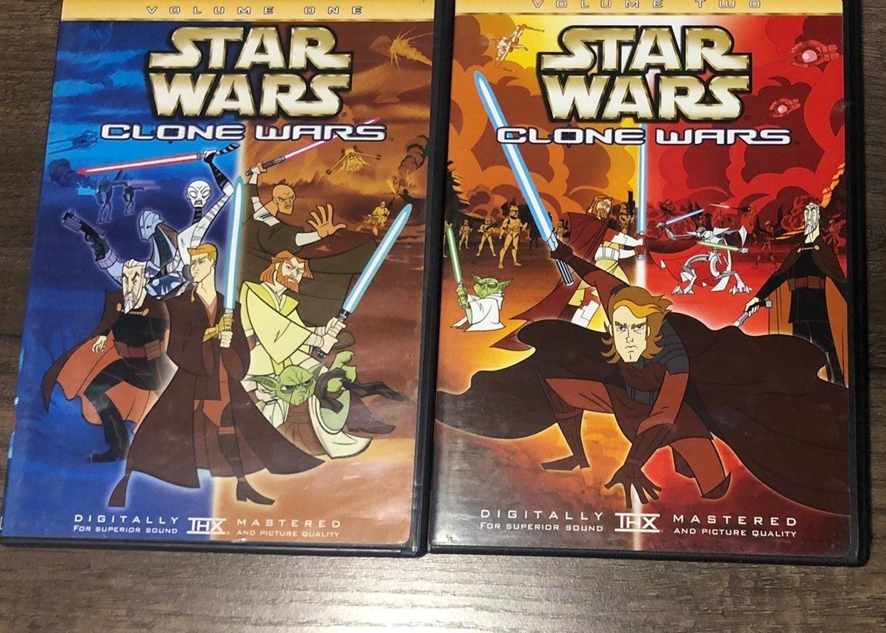 Star Wars Clone Wars DVD