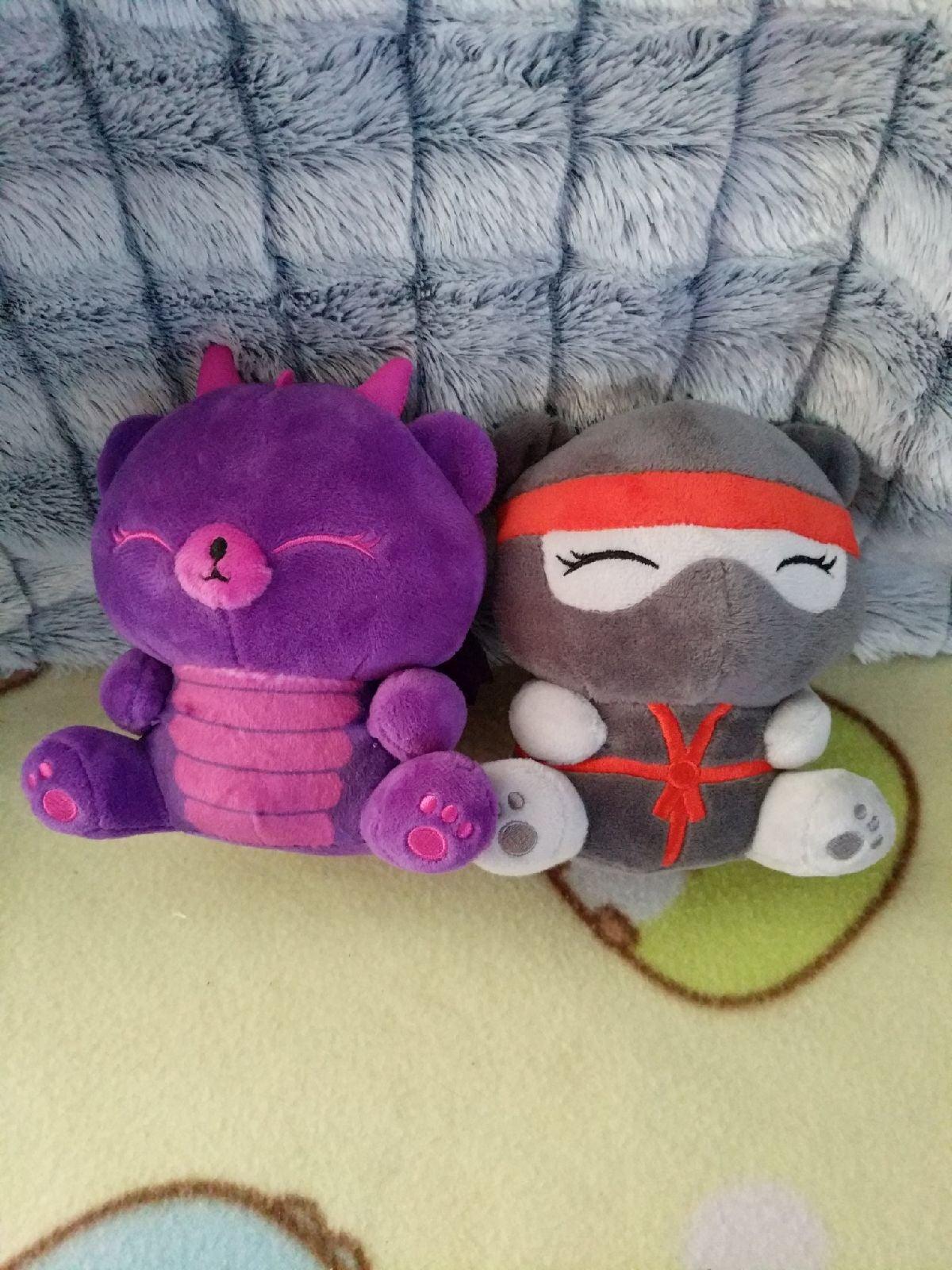 Me Bear ninja and dragon plush lot