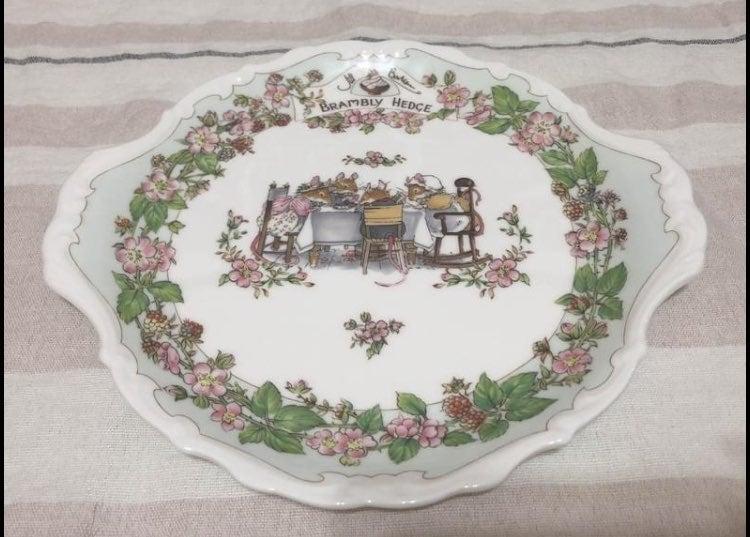 Royal Doulton Brambly Hedge plate