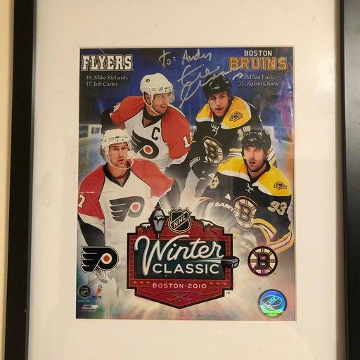 Framed Chara (Bruins) autograph