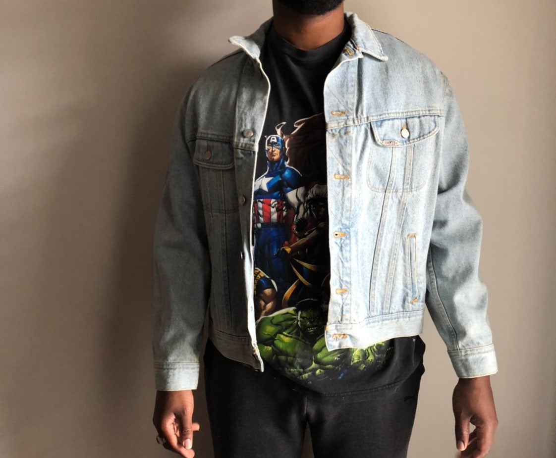 Vintage authentic Lee denim jacket