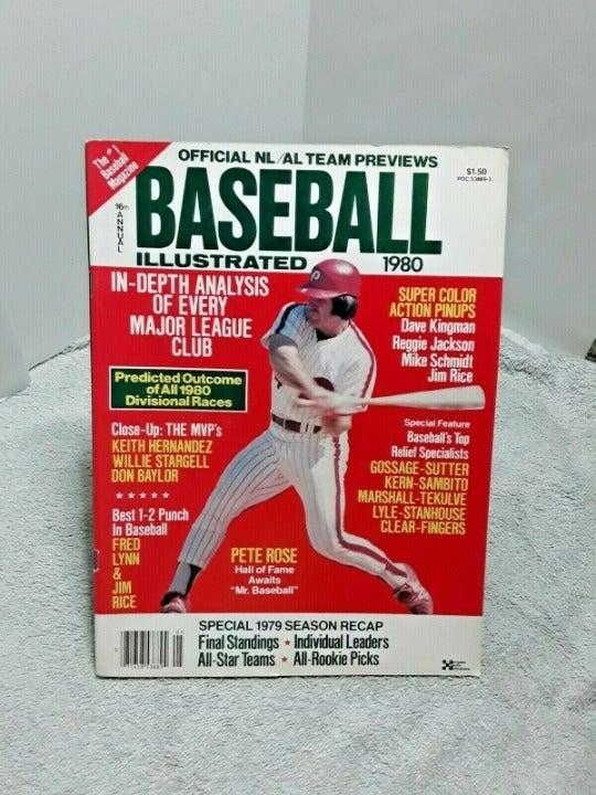 Baseball Illustrated 1980 Mag Pete Rose