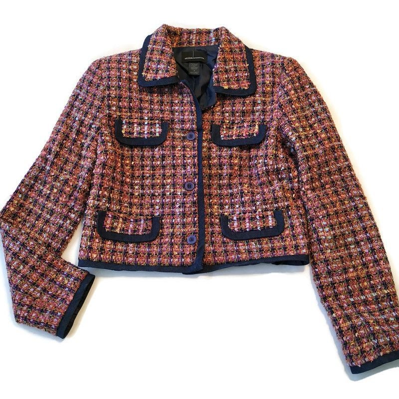 Moda International Crop Blazer Jacket s