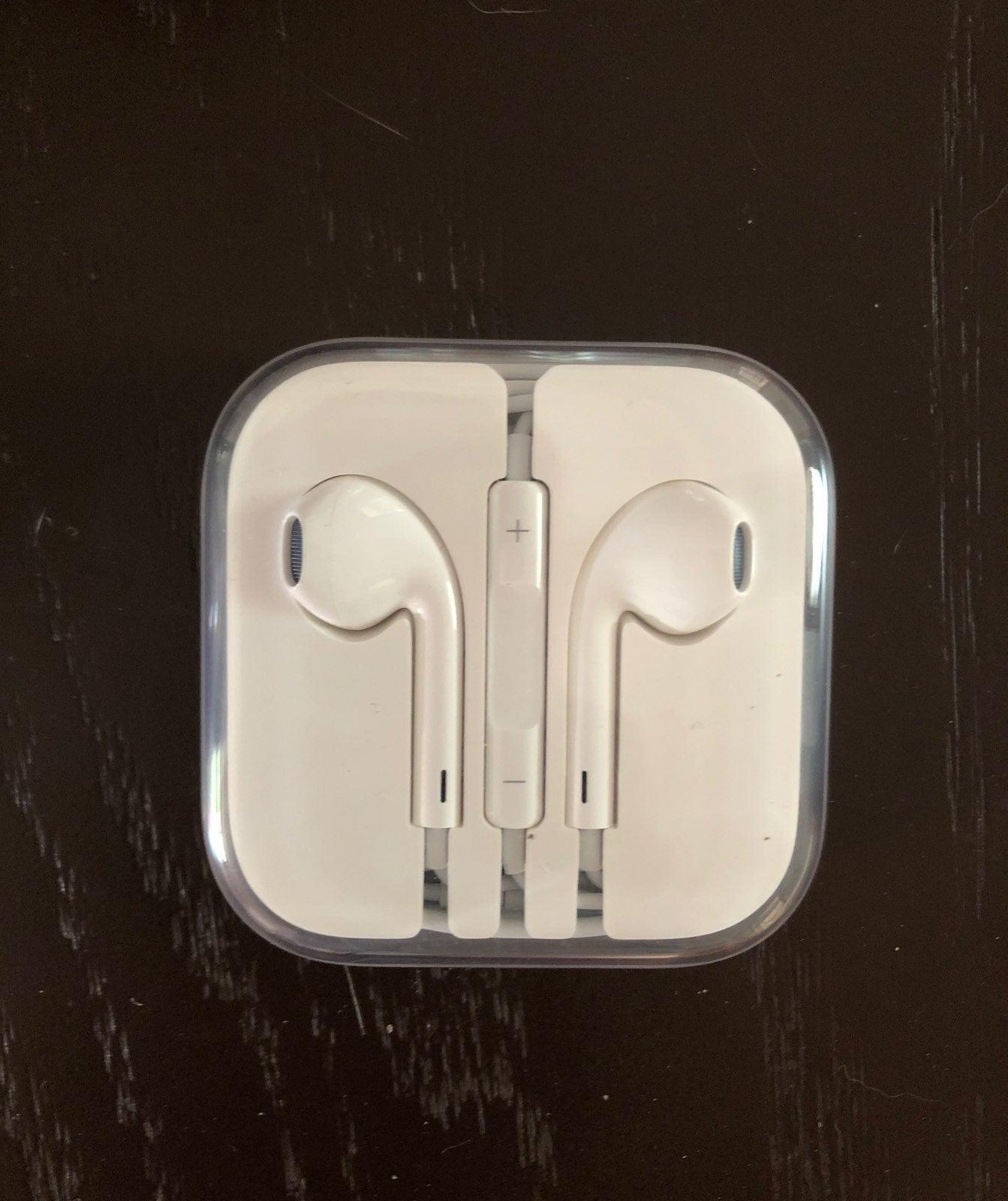 Apple Headphones Brand New