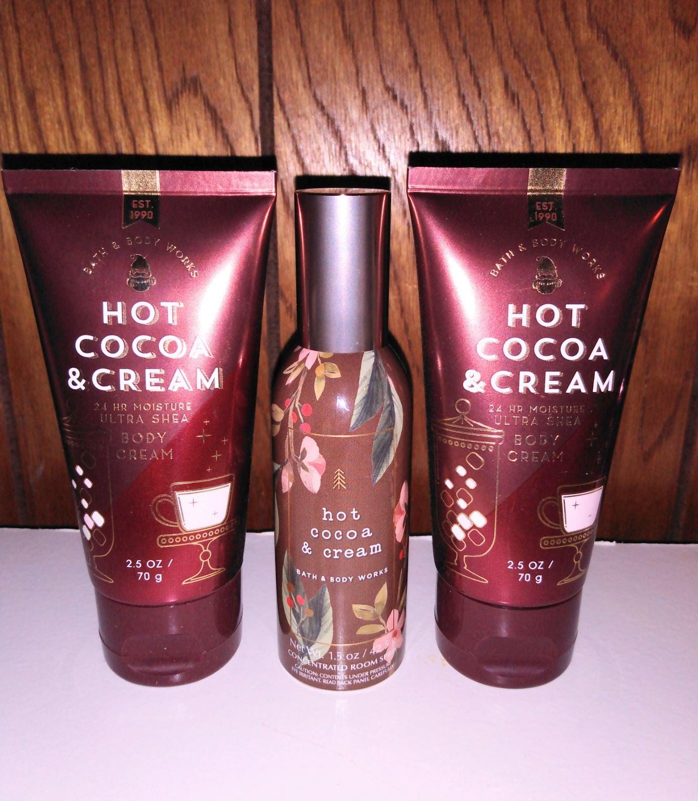 Hot Cocoa & Cream x3 Bundle