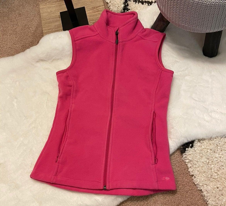 Champion Fleece Vest Pink