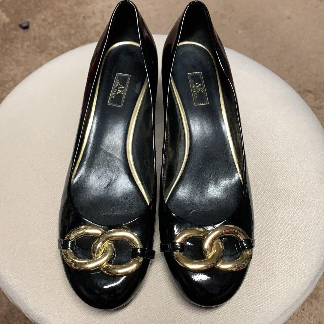 Ann Klein block Heel shoes