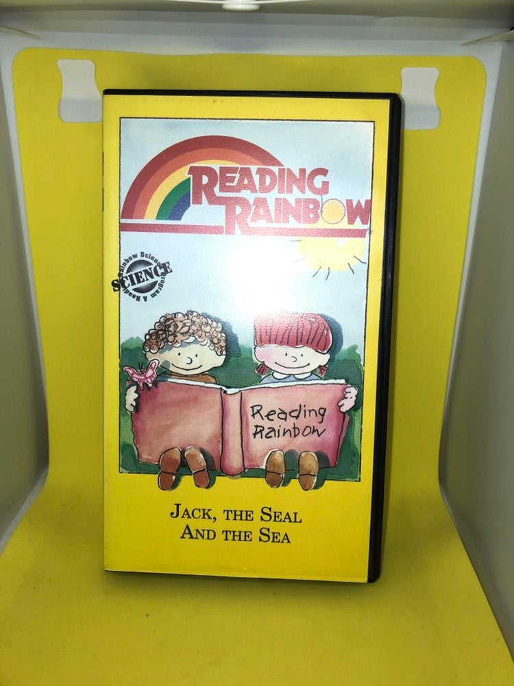 """READING RAINBOW """"Jack, The Seal And The"""
