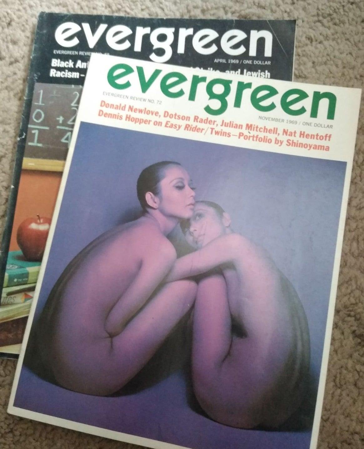 Evergreen Hippie Counterculture Mag