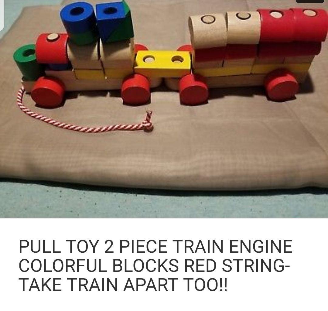 Plan Toys Wooden Toy Train