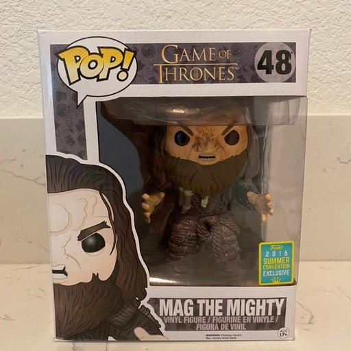 Funko Pop Game of Thrones #48 Mag the Mighty 2016 Summer Convention SDCC
