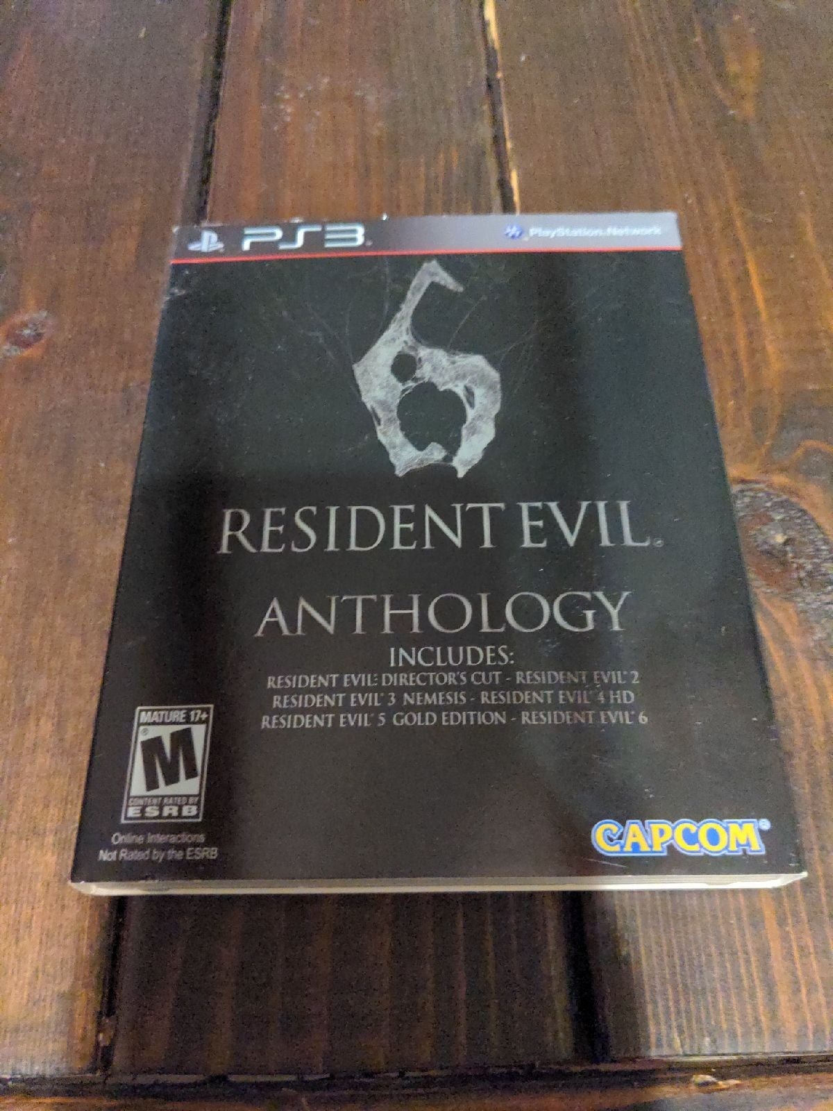 Resident Evil Anthology PS3