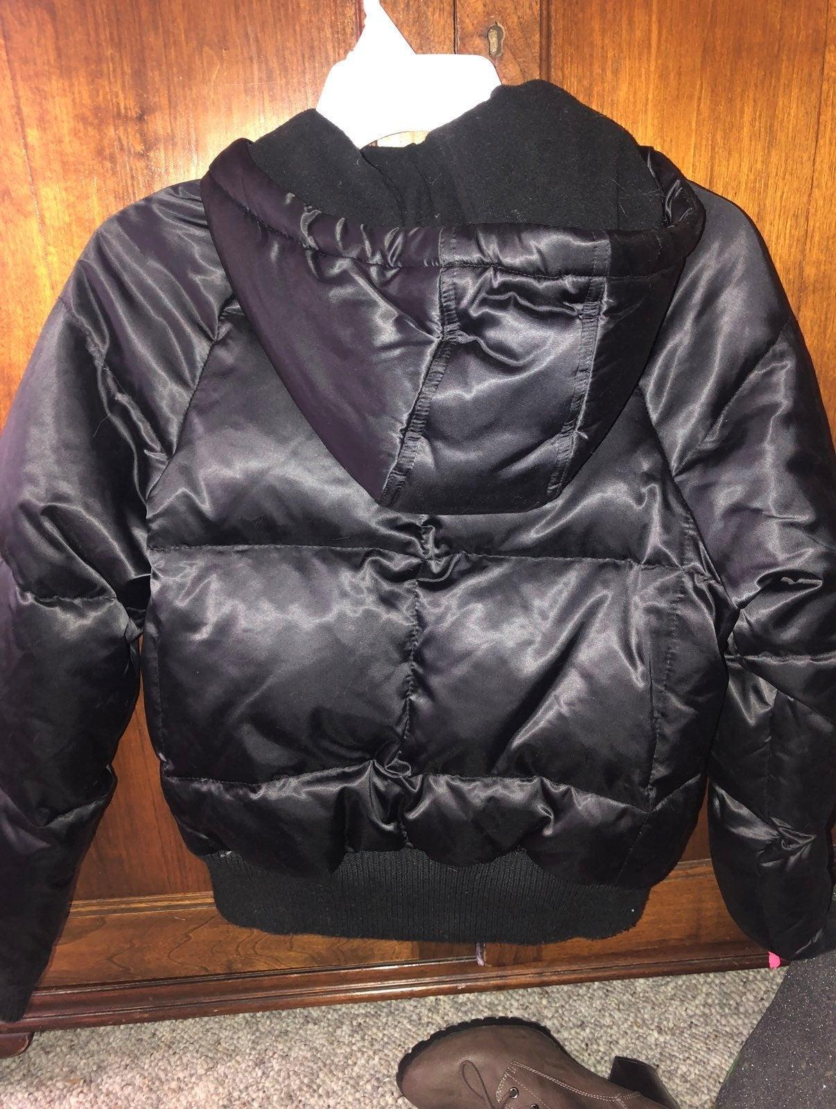 Old Navy Black Winter Puffer Coat