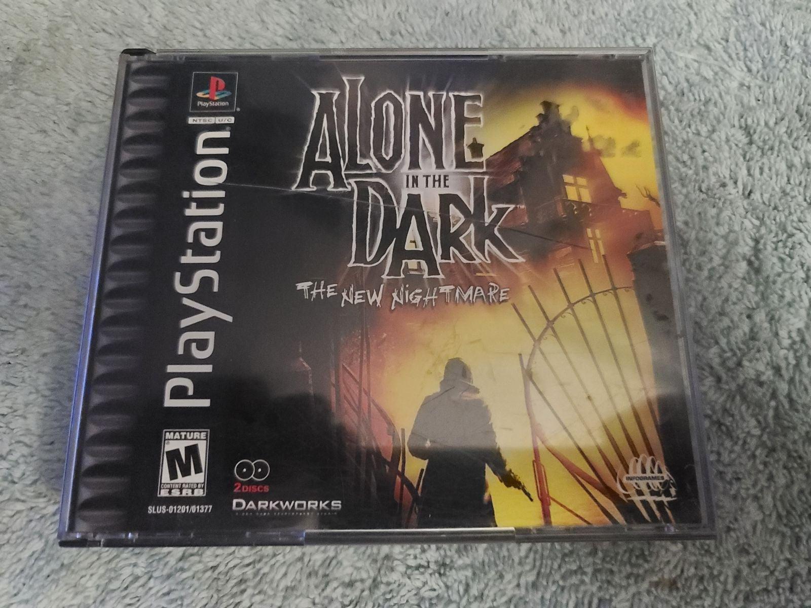 Alone in the Dark The New Nightmare PS1