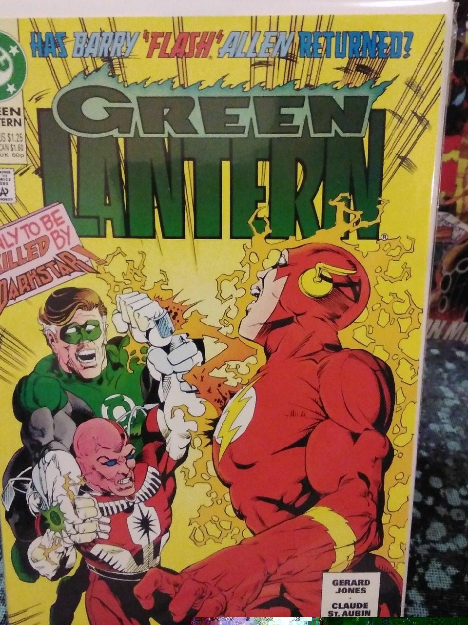 Green Lantern  #40 w/ Flash