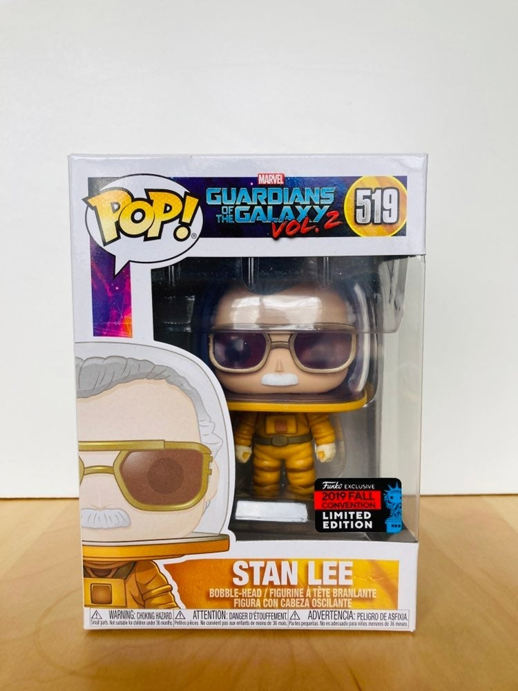 Funko Pop Stan Lee Guardians of the Gala