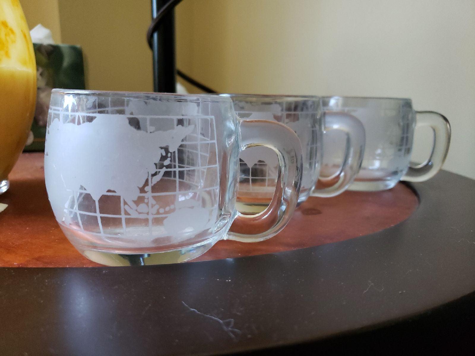 3 Nescafe world mug set