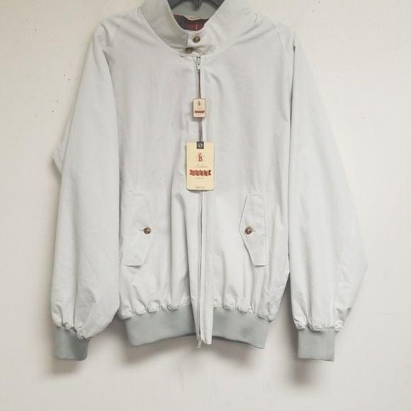 baracuta silver rainwear