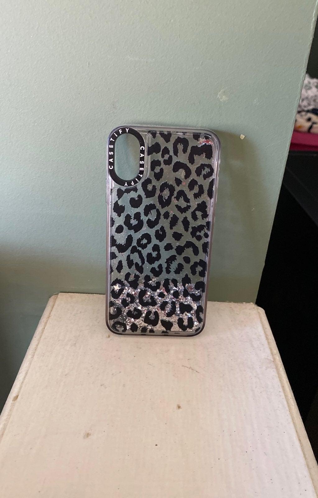 Cassify Iphone X glitter case