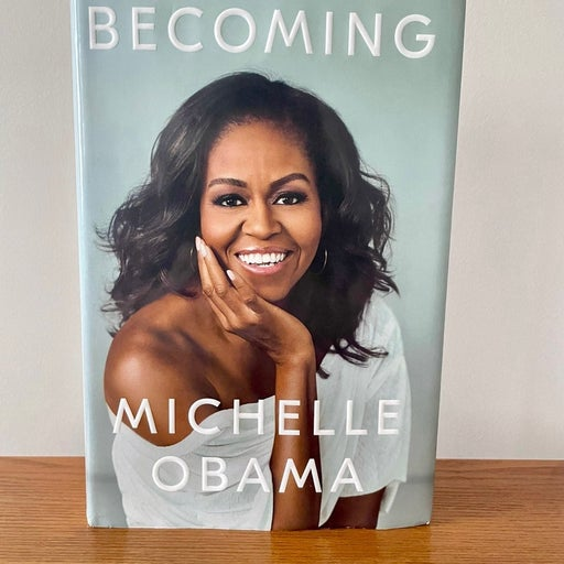 'Becoming' by Michelle Obama (Hardcover)
