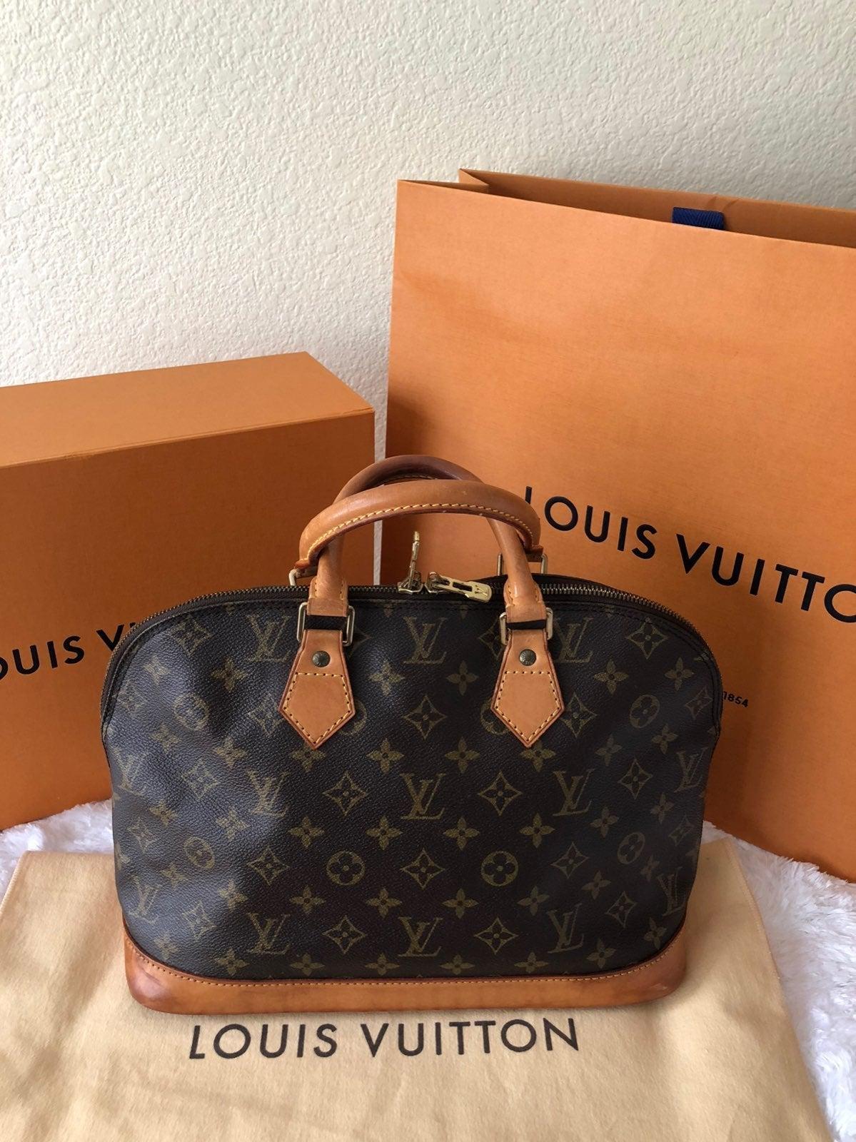 Louis Vuitton Alma PM Mono Satchel Bag