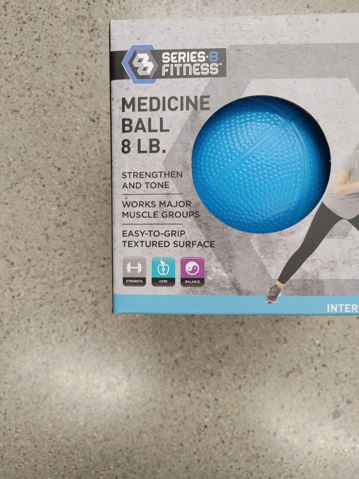 8lb Ball Home Fitness Gym Weights Yoga