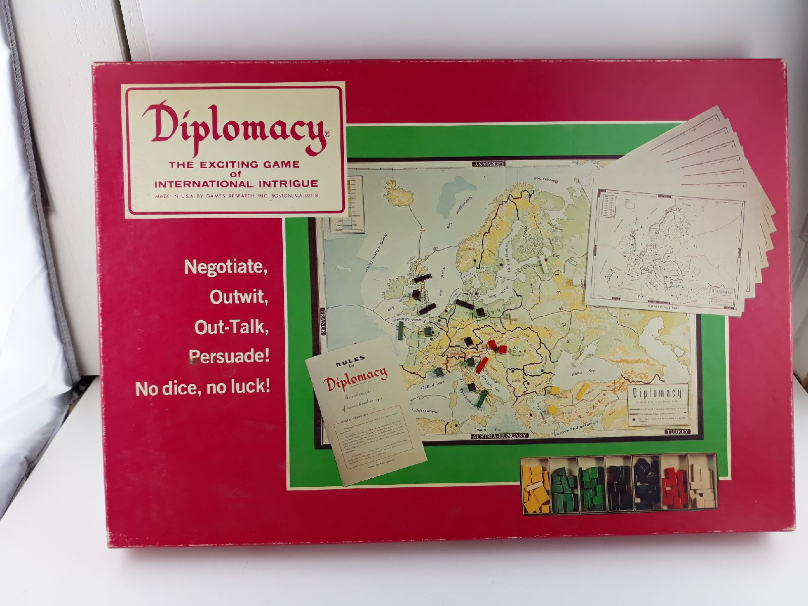 Diplomacy the exciting game of internati