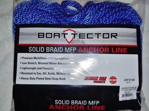 "Solid Braid Anchor Line, 3/8"" x 100 feet"