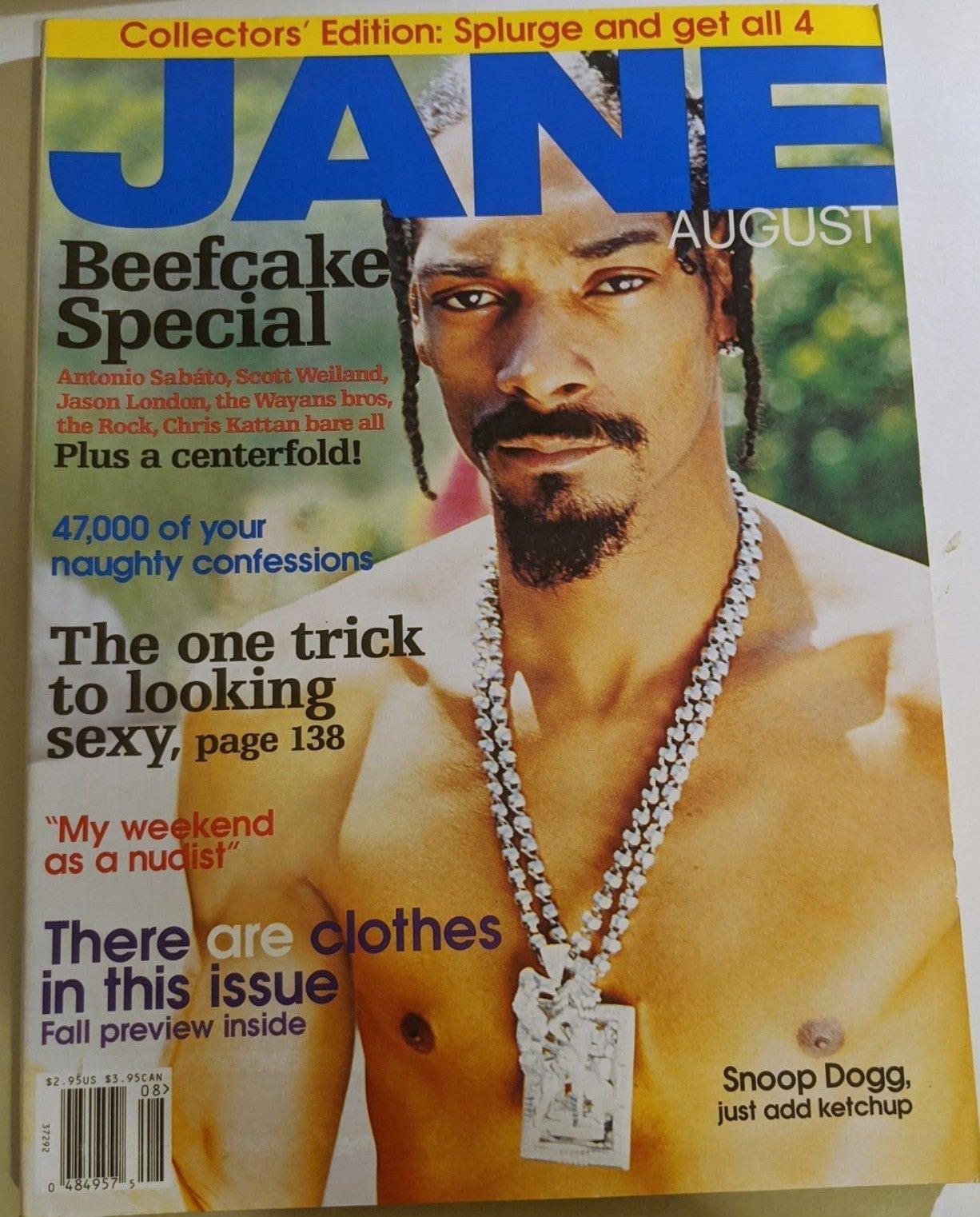 Snoop Dogg Vintage Jane Magazine