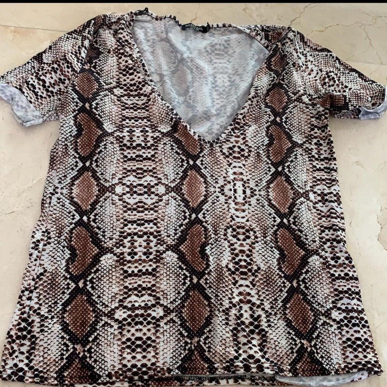 Nasty Gal Snake Print Shirt