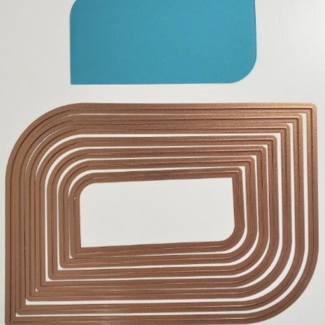 Dies - Shaped Rectangles Set of 6