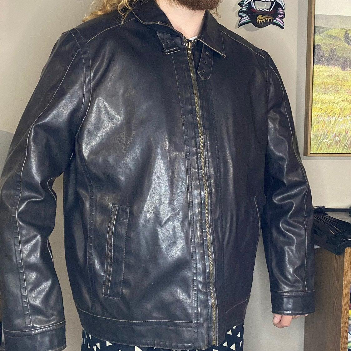 Vintage Tommy Hilfiger Leather Jacket