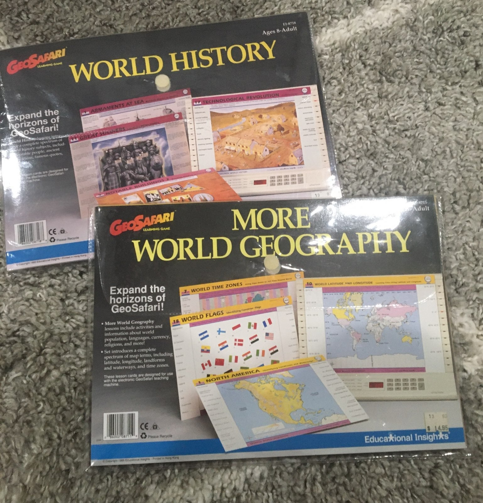 GeoSafari: World Geography & History