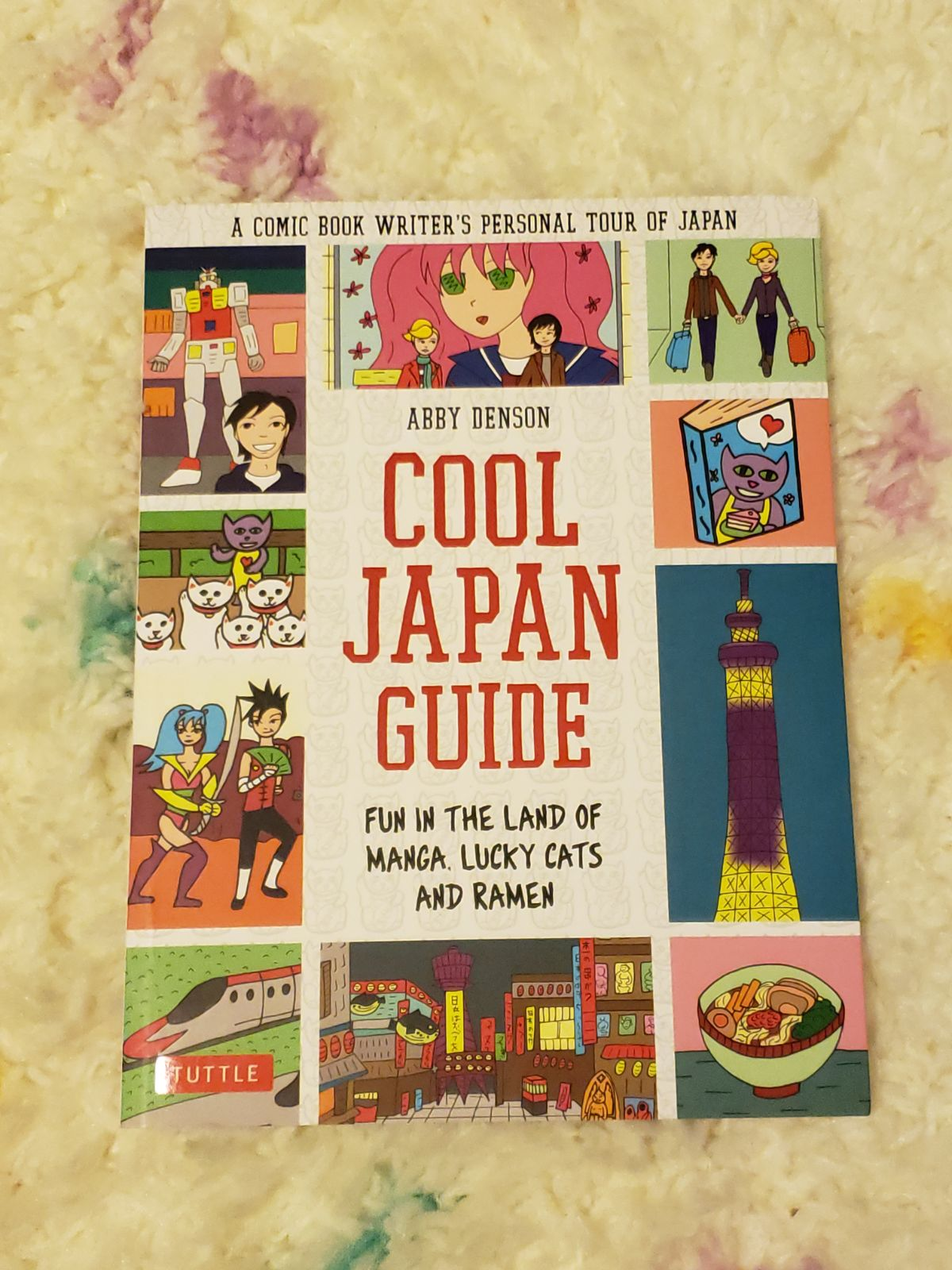 Cool Japan Guide by Abby Denson