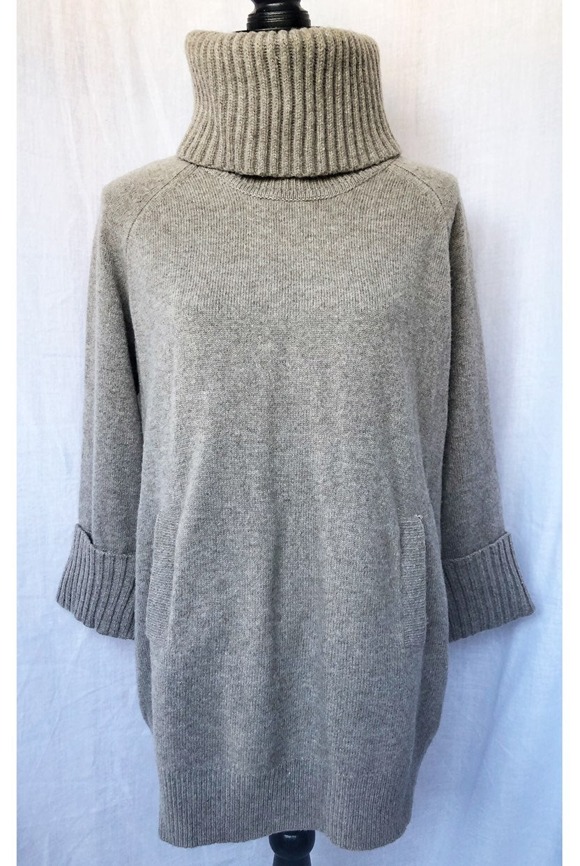 Gap Turtleneck Wool Chunky Sweater
