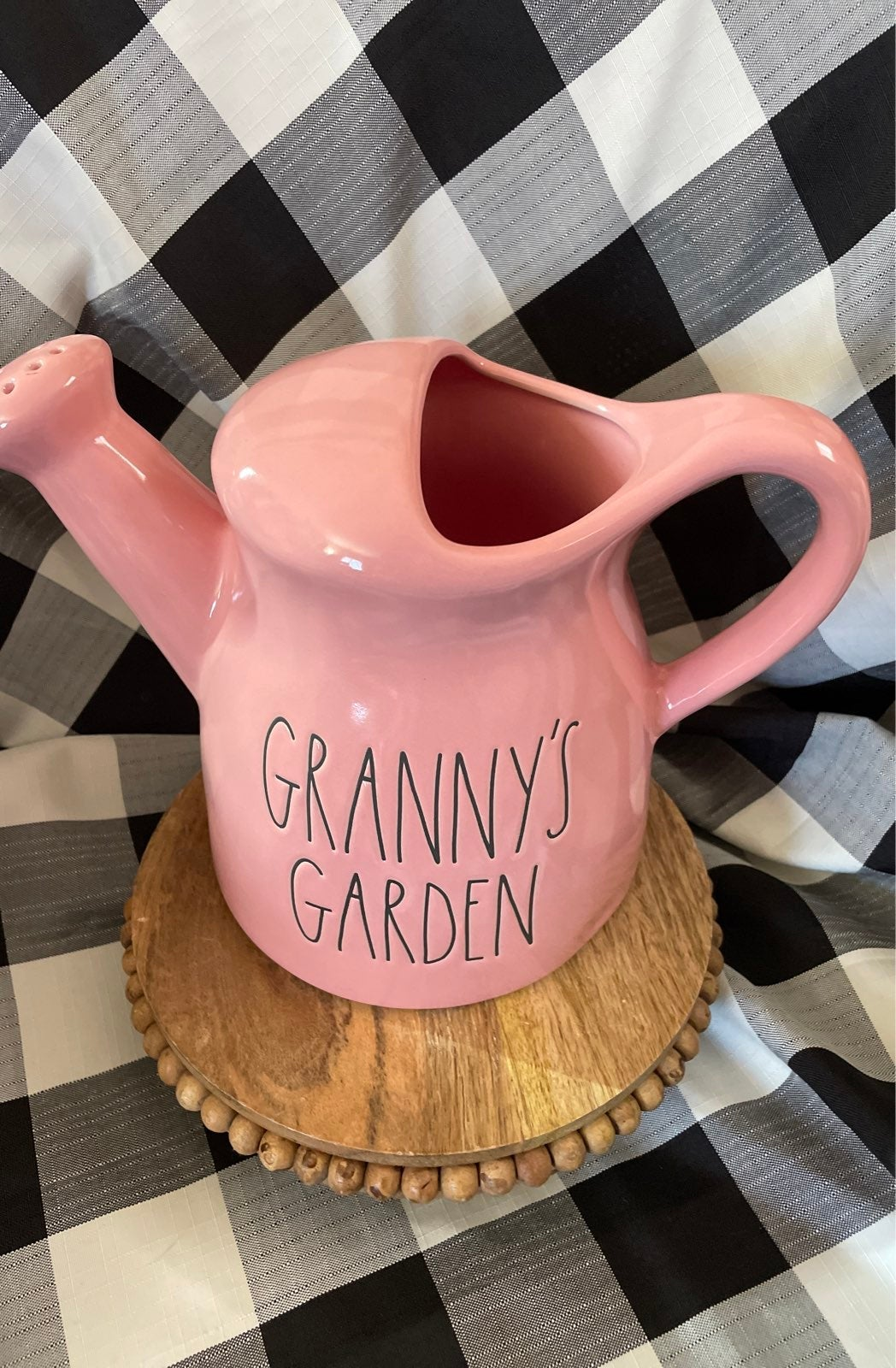 Rae Dunn Garnny's Garden Watering Can