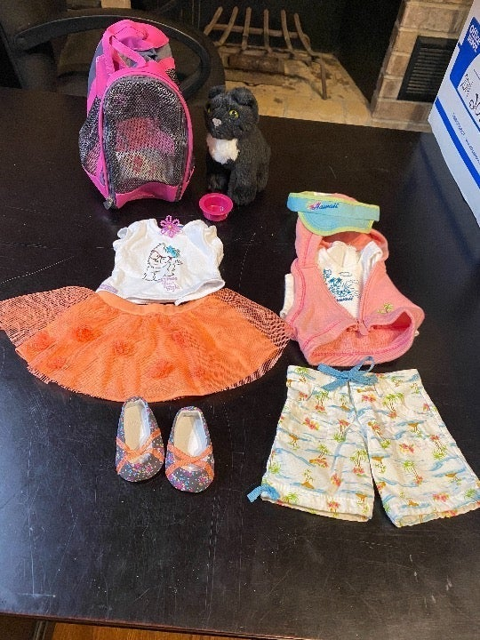 American Girl Pet and Clothing Set