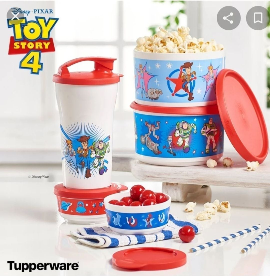 Tupperware Toy Story 4 Canisters & Snack