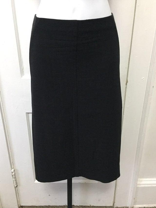 Brunello Cucinelli Grey Pencil Skirt