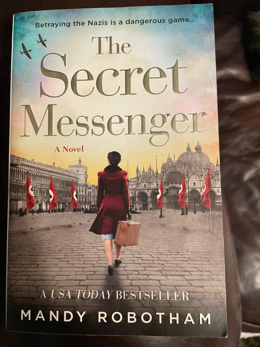 The Secret Messenger book mandy robotham