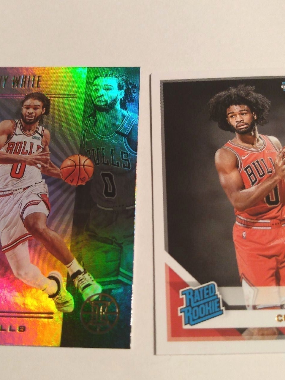 2019-20 Donruss rated rookie Coby White