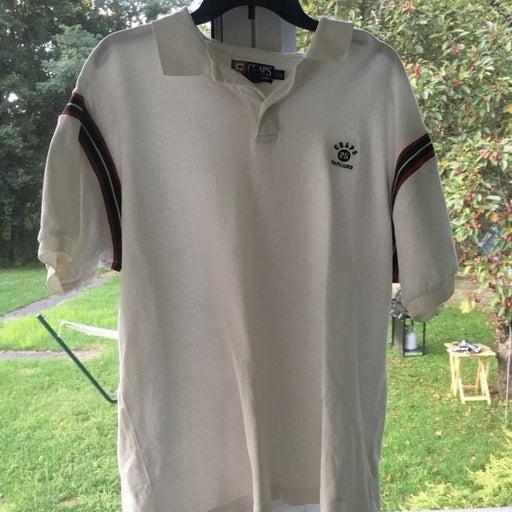 Polo Chaps Ralph Lauren Golf Shirt White
