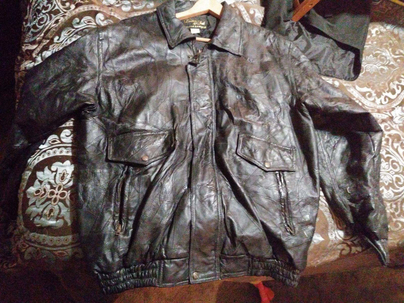 Leather & soul leather jacket