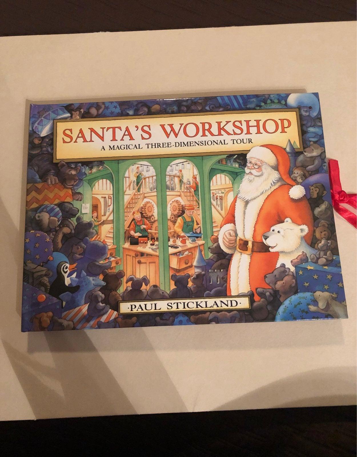 Santa's Workshop pop up book